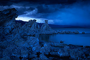 Mono Lake at twilight
