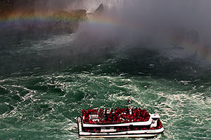 Hornblower at Niagara Falls