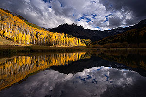 Mount Sneffels reflection