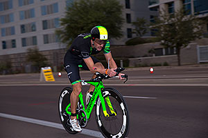 00:56:57 #1 Lionel Sanders [1st,CAN,07:44:29] cycling at Ironman Arizona 2016