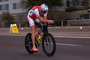 00:57:11 #14 David Plese [4th,SVN (Slovenia),08:04:29] cycling at Ironman Arizona 2016