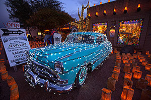 Christmas Lights in Tubac, Arizona