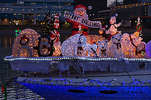 Boat #32 Merry Christmas at APS Fantasy of Lights Boat Parade