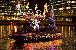 Boat #12 at APS Fantasy of Lights Boat Parade