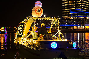 Boat #41 Star Wars at APS Fantasy of Lights Boat Parade