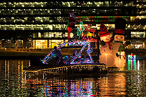Boat #39 at APS Fantasy of Lights Boat Parade