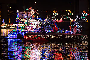 Boat #38 at APS Fantasy of Lights Boat Parade