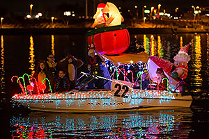 Boat #22 at APS Fantasy of Lights Boat Parade