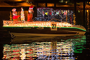 Boat #27 at APS Fantasy of Lights Boat Parade