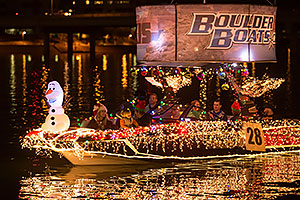 Boat #28 at APS Fantasy of Lights Boat Parade