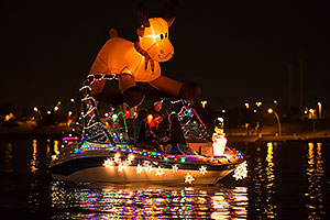 Boat #23 at APS Fantasy of Lights Boat Parade