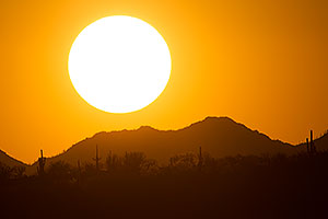 Sunset in Santa Catalina Mountains
