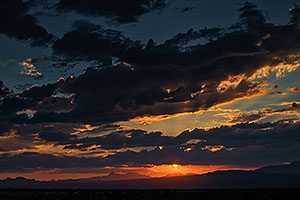 Sunset in Green Valley, Arizona