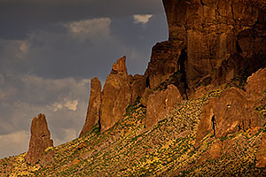 Evening in Superstitions, Arizona
