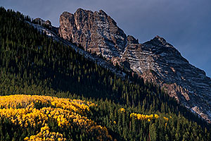 Fall colors near Maroon Bells, Colorado