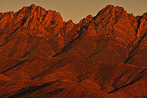 Evening at Four Peaks, Arizona