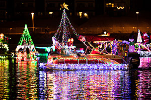 Boat #47 at APS Fantasy of Lights Boat Parade