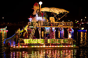 Boat #13 at APS Fantasy of Lights Boat Parade