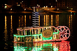 Boat #22 - Hayden Belle Ferry - at APS Fantasy of Lights Boat Parade