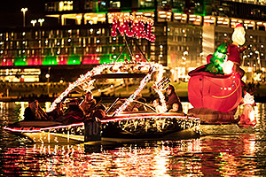 Boat #10 - Noel - at APS Fantasy of Lights Boat Parade