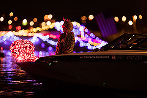 Boat at APS Fantasy of Lights Boat Parade