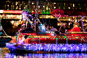 Boat #47 with Santa at APS Fantasy of Lights Boat Parade