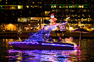 Boat #43 at APS Fantasy of Lights Boat Parade