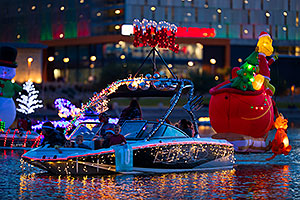 Boat #10 at APS Fantasy of Lights Boat Parade