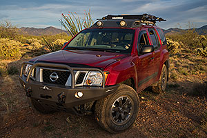 Xterra and Santa Rita Mountains, Arizona