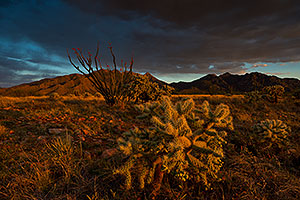 Clouds at Santa Rita Mountains, Arizona