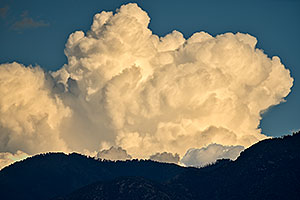 Big clouds over Santa Rita Mountains