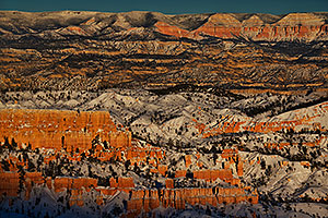 Evening at Bryce Canyon