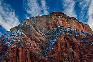 Images of Zion in February