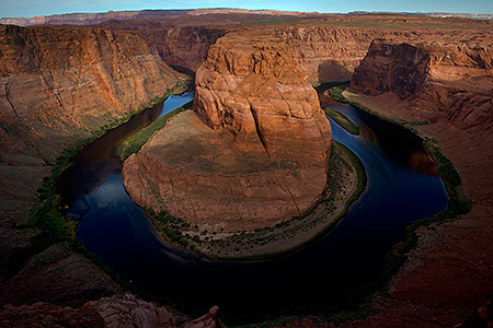 View of Horseshoe Bend, Arizona