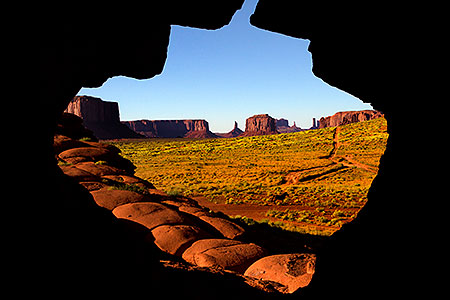 View in Monument Valley, Utah