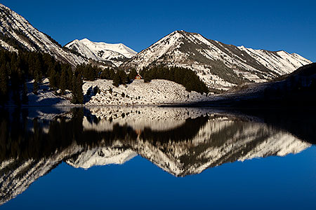 Crested Butte morning reflections, Colorado