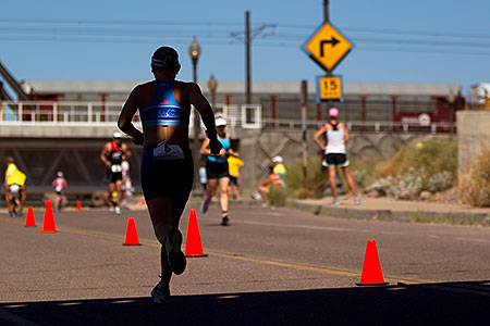 02:36:07 Runners at Tempe Triathlon at Tempe Town Lake
