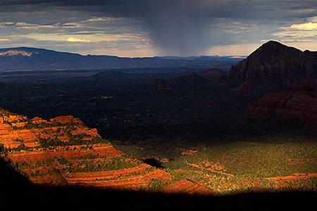 Morning view of Sedona, Arizona