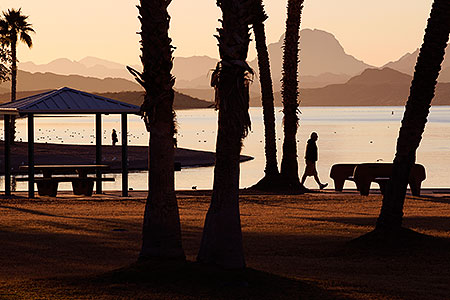Morning in Lake Havasu City, Arizona