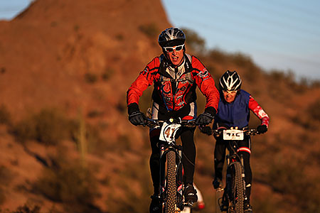 #412 Mountain Biking at 12 Hours at Papago in Tempe