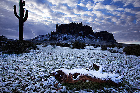 Snow in Superstitions