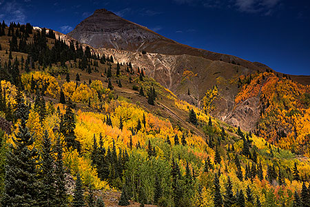 Images of Red Mountain Pass between Ouray and Silverton