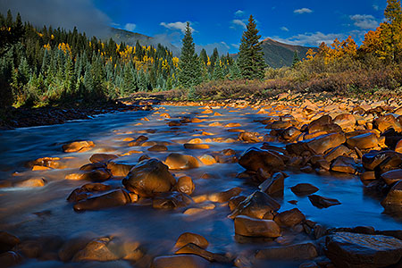 Mineral Creek by Silverton, Colorado