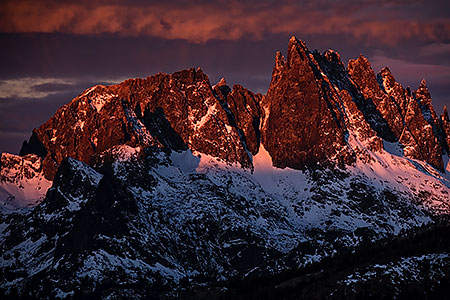 Minarets in Eastern Sierra, California