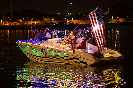 Boat #01 at APS Fantasy of Lights Boat Parade