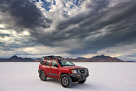 Xterra at Bonneville Salt Flats