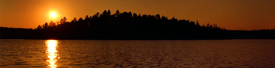 /images/500/1998-09-tema-nip-sunset-sp.jpg - #00151: sunset on Anima Nipissing Lake … Sept 1998 -- Anima Nipissing Lake, Temagami, Ontario.Canada