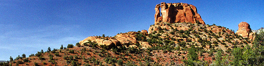 /images/500/2000-05-sedona-dogie5-sp.jpg - #00492: Dogie Trail in Sycamore canyon … May 2000 -- Sedona, Arizona