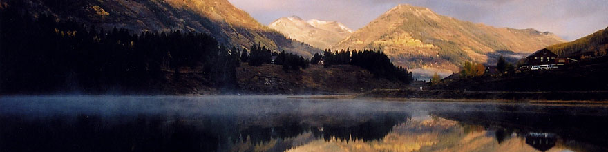 /images/500/2004-10-cb-nicholson1-sp.jpg - #02224: morning at Nicholson Lake (elev 8,913ft) … Oct 2004 -- Nicholson Lake, Crested Butte, Colorado