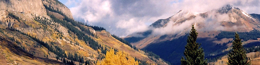 /images/500/2004-10-crested-view1-sp.jpg - #02311: images of Paradise Divide lake (elev 11,250 ft) … October 2004 -- Paradise Divide Lake, Crested Butte, Colorado
